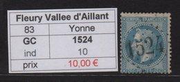 Fleury Vallee D Aillant - Yonne - GC 1524 - Marcophilie (Timbres Détachés)