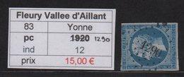 Fleury Vallee D Aillant - Yonne - Pc 1290 - Marcophilie (Timbres Détachés)