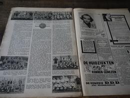 Aalst Eendracht Aalst Foto's Ploeg  Van 1921 Tot 1939  In Magazine Dd Jan 1939 + Namen Spelers - Football
