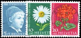 Switzerland 1963 Pro-Juventute Ordinary White Paper Fine Used. - Pro Juventute