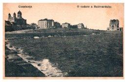 Romania, Constanta, Bulevardului. Casino Overlooking Black Sea - Roumanie