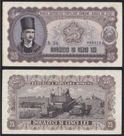 Banknote 25 Lei 1952 -Romania - Romania