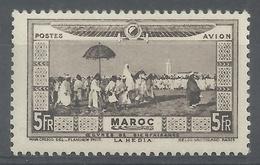 French Morocco, La Hedia, 5f., 1928, MH VF, Airmail - Morocco (1891-1956)