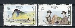 Gibraltar 1982. Yvert 458-59 ** MNH. - Gibilterra