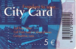 TARJETA TELEFONICA DE LUXEMBURGO (PREPAID) Freedom To Save... CITY CARD. LU-PRE-CYC-0001Bb (091) - Luxembourg