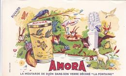 BUVARD / AMORA / LA FONTAINE / ETAT NEUF - Levensmiddelen