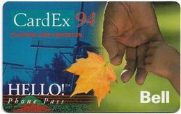 Canada - Bell - Hello! - CardEx '94, Remote Mem. 07.1994, Mint - Canada