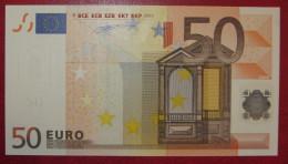 RARE 50 EURO H016 Netherlands Serie P Duisenberg Perfect UNC - EURO