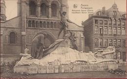 Anvers Antwerpen Standbeeld Monument Baron Dhanis Expédition Belgisch Congo Belge Koloniale Propaganda - Antwerpen