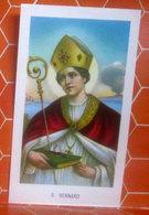 S. Gennaro  - Ed.G.Mi 107 - SANTINO Con  Preghiera - Imágenes Religiosas