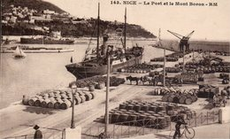 NICE - Le Port Et Le Mont-Boron - Transport Maritime - Port