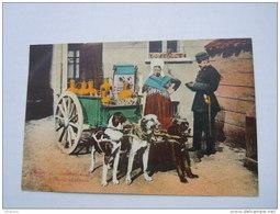 België Belgique Laitière Flamande Attelage De Chiens Police Melkboerin Honden Kar Circulée 19?? Ypres-> Turnhout - Marchands Ambulants