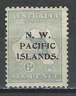 New Guinea SG 88, Mi 15 II * MH Type C - Papouasie-Nouvelle-Guinée