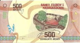 MADAGASCAR 500 ARIARY 2017 UNC P 99 - Madagascar