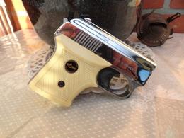 Pistolet D'alarme Chromé Rohm RG5s Années 60 - Sammlerwaffen