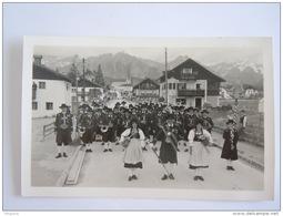 Cpsm Autriche Oostenrijk Seefeld In Tirol Musikkapelle Dans Costume Traditionel Verlag Karl Dornach - Musique