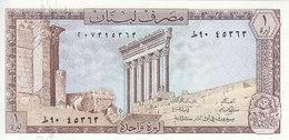 LEBANON 1 LIVRE LIRA 1980 P-61 UNC */* - Libanon