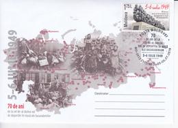2019 , MOLDOVA , MOLDAVIE , MOLDAU , 70 Years Of The Second Deportation Of Bessarabia , Bessarabie ,  Special Cancell - Moldawien (Moldau)