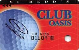 Oasis Casino Mesquite, NV - Slot Card - Casino Cards