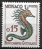 MONACO    -    1960 .   Y&T N° 540 *.   Hippocampe - Ungebraucht