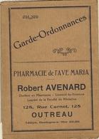Outreau- Pharmacie De L'avé Maria-garde Ordonnances-robert Avenard - Produits Pharmaceutiques