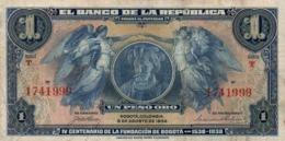 Colombia 1   Peso  1938 - Colombia