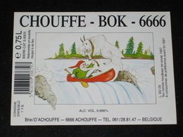 Bier Etiket BOK 6666 Brouwerij D' ACHOUFFE Brasserie - Other