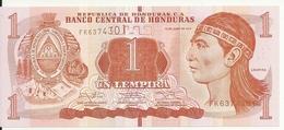 HONDURAS 1 LEMPIRA 2014 UNC P 96 B - Honduras