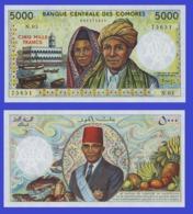 Comoros Comores  5000 Francs 1984 - Comoren