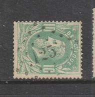 COB 30 Oblitération à Points 125 FEXHE-LE-HAUT-CLOCHER +12 - 1869-1883 Leopold II.