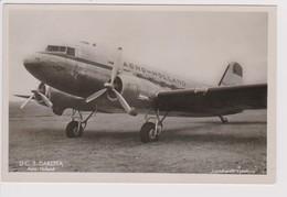 Vintage Rppc Douglas Dc-3 AERO-HOLLAND Ph-TFB Klm Aircraft - 1919-1938: Between Wars