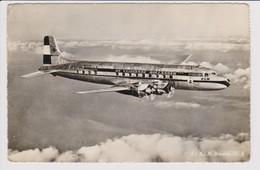 Vintage Rppc KLM K.L.M Royal Dutch Airlines Douglas Dc-6 Aircraft - 1919-1938: Fra Le Due Guerre