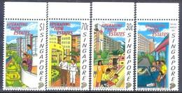 D69- Singapore 1997 Renovation Housing And Development Estates. - Singapore (1959-...)