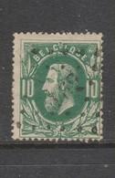 COB 30 Oblitération à Points 162 HABAY-LA-NEUVE +10 - 1869-1883 Léopold II