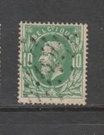 COB 30 Oblitération à Points 180 HERZELE +25 - 1869-1883 Léopold II