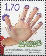 BHRS 2017-717 Year Of Family , BOSNA AND HERZEGOVINA REPUBLIKA SRBSKA, 1 X 1v, MNH - Bosnie-Herzegovine