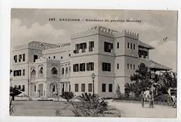 TANZANIE - ZANZIBAR - Résidence Du Premier Ministre (Messageries Maritimes) 1900... - Tanzanie