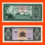 CURCAO 25 Gulden 1963 - Andere - Oceanië