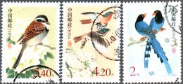 ChinaP.R. 2006 Birds, 3 Postally Used - 1949 - ... République Populaire