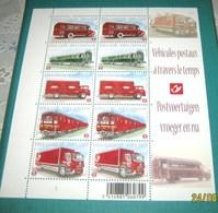 Belg. 4056/60** Postvoertuigen Vroeger En Nu - Véhicules Posteaux à Travers Le Temps MNH - Belgium