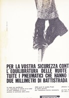(pagine-pages)PUBBLICITA'  PIRELLI  Oggi1960/30. - Libri, Riviste, Fumetti
