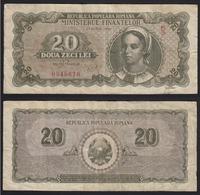 Banknote  20 Lei 1950 -Romania - Romania