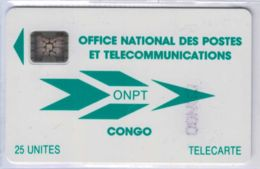Congo - ONPT 25 U Verte - SC4 An S/E ¤6 - 40496 GE - Voir Scans - Kongo