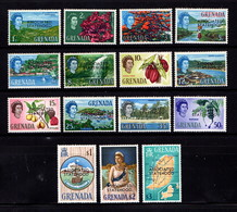 GRENADA    1967    Stateshoodl   Set  Of  15    MH - Grenada (...-1974)