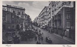 AK Napoli - Via Roma  (42334) - Napoli (Nepel)