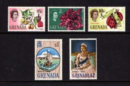 GRENADA    1967    World  Fair  Montreal   Set  Of  5    MH - Grenada (...-1974)