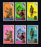 GRENADA    1968    World  Scout  Jamboree   Set  Of  6    MH - Grenada (...-1974)