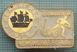 USSR / Badge / Soviet Union / RUSSIA . Motorcycling . Moto. Speedway Europe Championship Leningrad 1979. - Badges