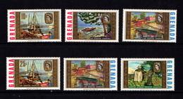 GRENADA    1968    Paintings  Of  Sir  Winston  Churchill   Set  Of  6    MH - Grenada (...-1974)
