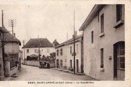 Saint-andré-le-gaz - Grande Rue - Saint-André-le-Gaz
